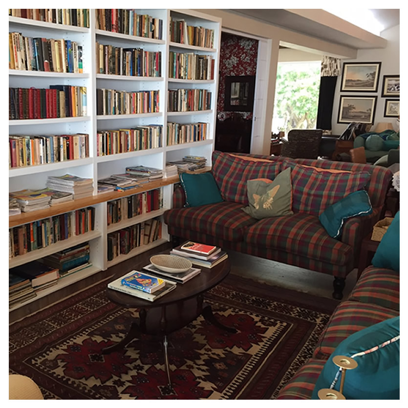 Inviting library area